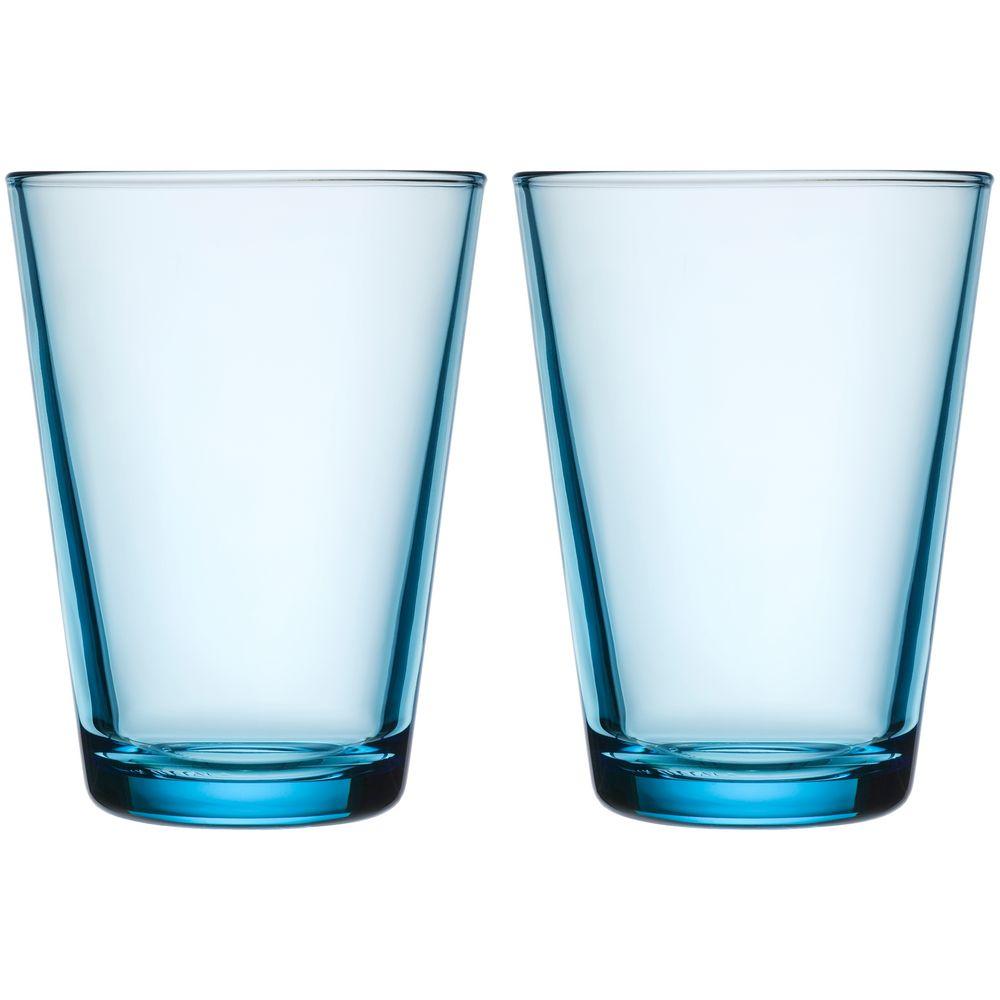 Набор больших стаканов Kartio, голубой