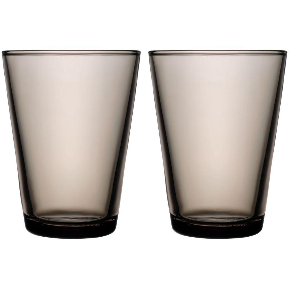 Набор больших стаканов Kartio, коричневый