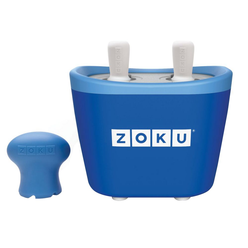 Набор для приготовления мороженого Duo Quick Pop Maker, синий