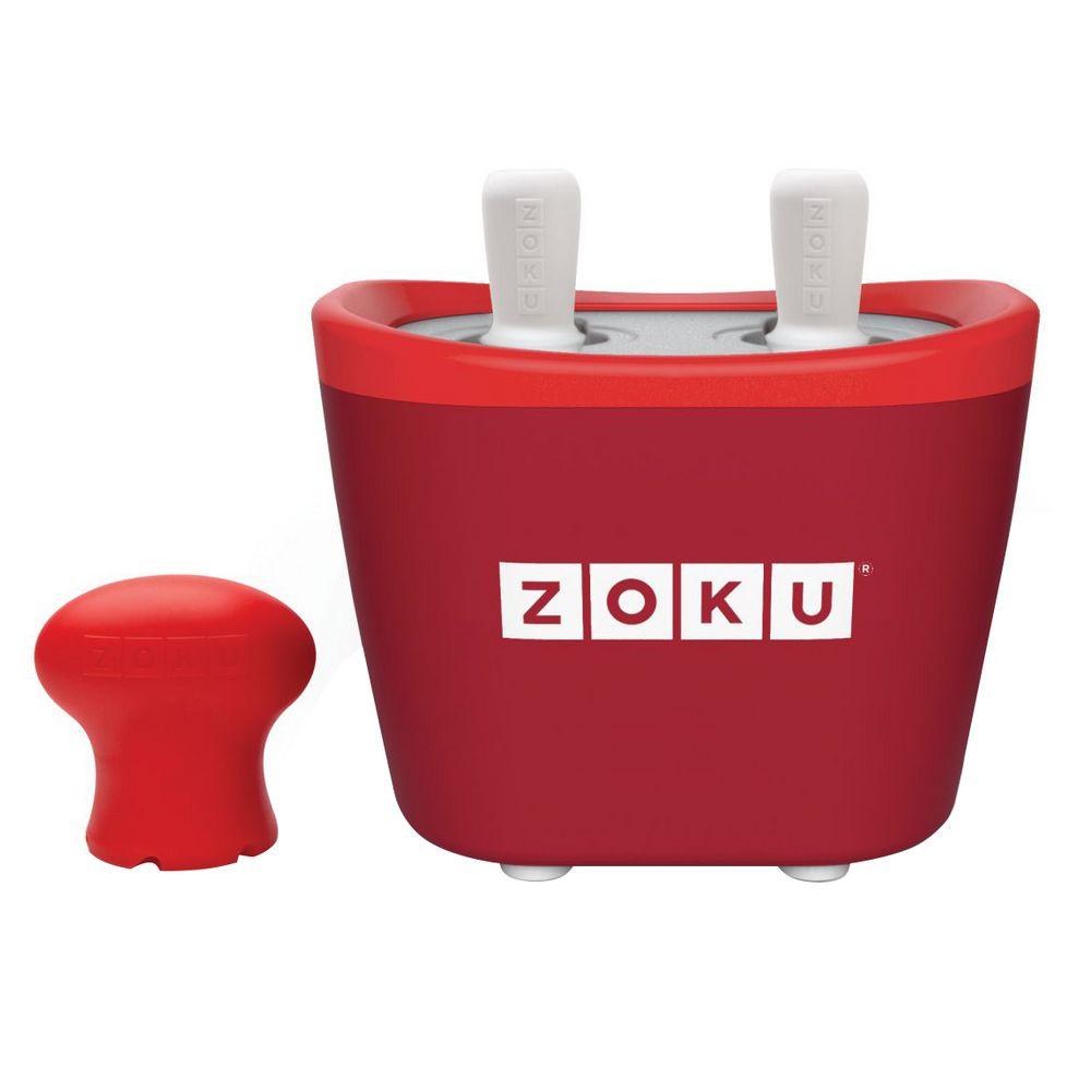 Набор для приготовления мороженого Duo Quick Pop Maker, красный