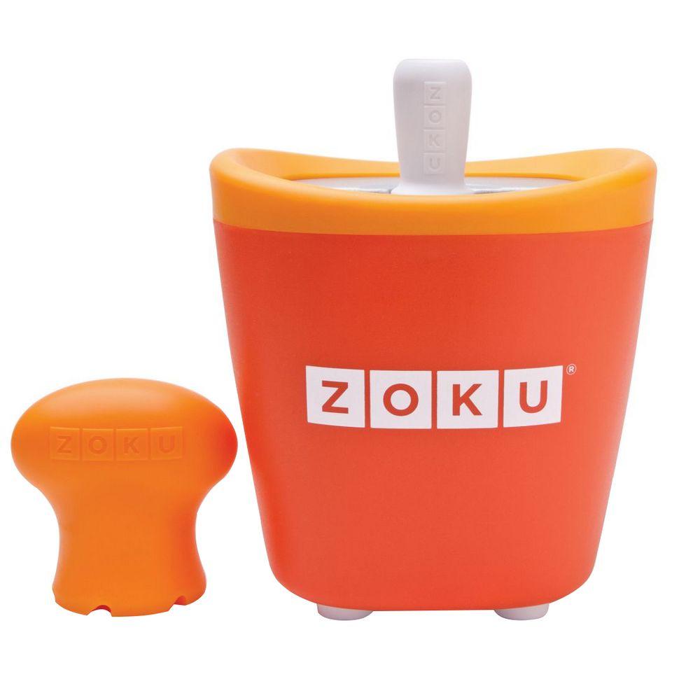 Набор для приготовления мороженого Single Quick Pop Maker, оранжевый