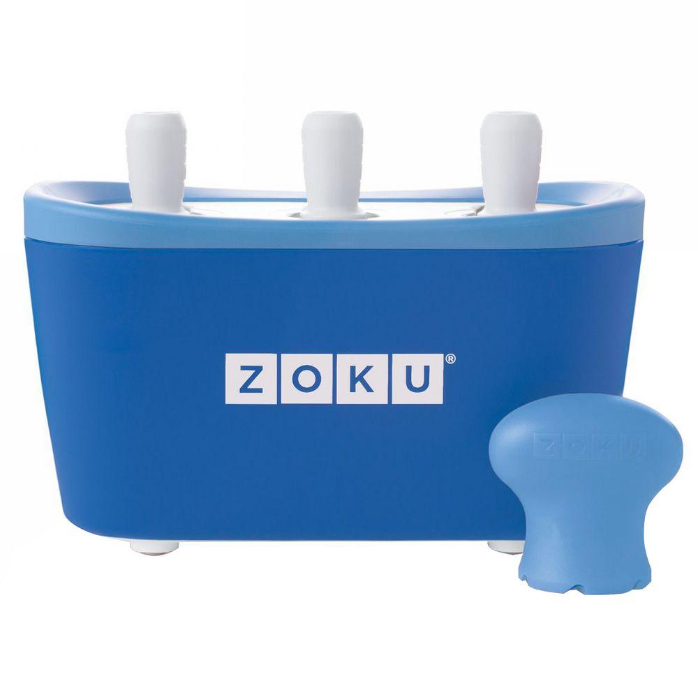 Набор для приготовления мороженого Triple Quick Pop Maker, синий