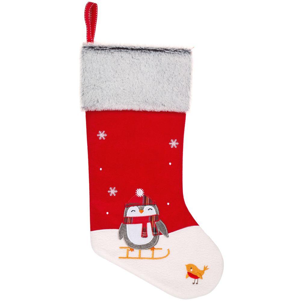 Носок для подарков Noel, с пингвинами