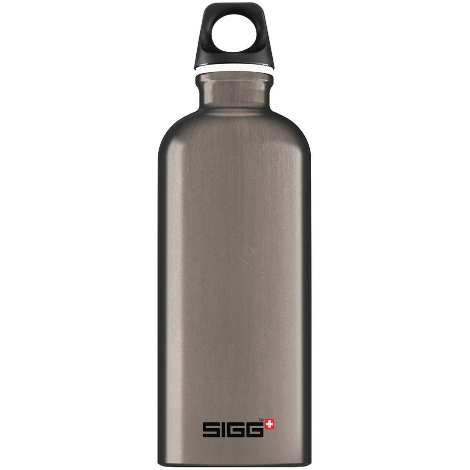 Бутылка для воды Traveller 600, темно-серая