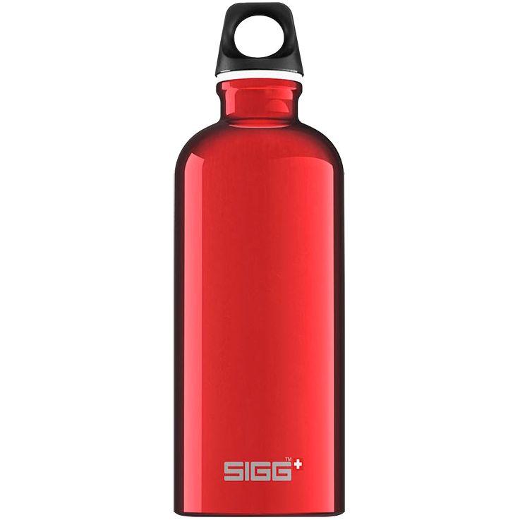Бутылка для воды Traveller 600, красная