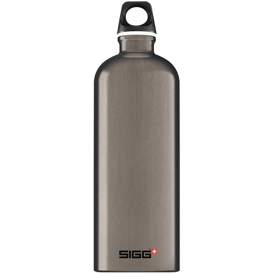 Бутылка для воды Traveller 1000, темно-серая