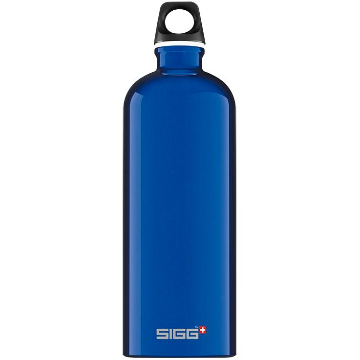 Бутылка для воды Traveller 1000, синяя