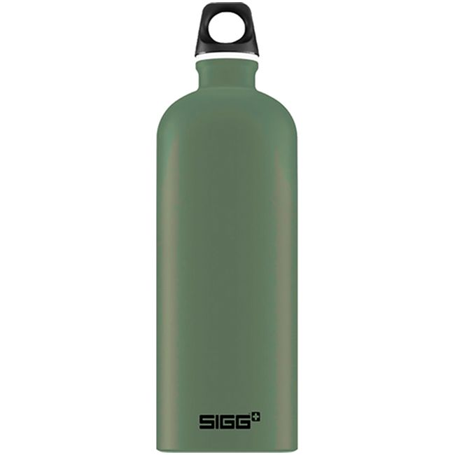 Бутылка для воды Traveller 1000, зеленая