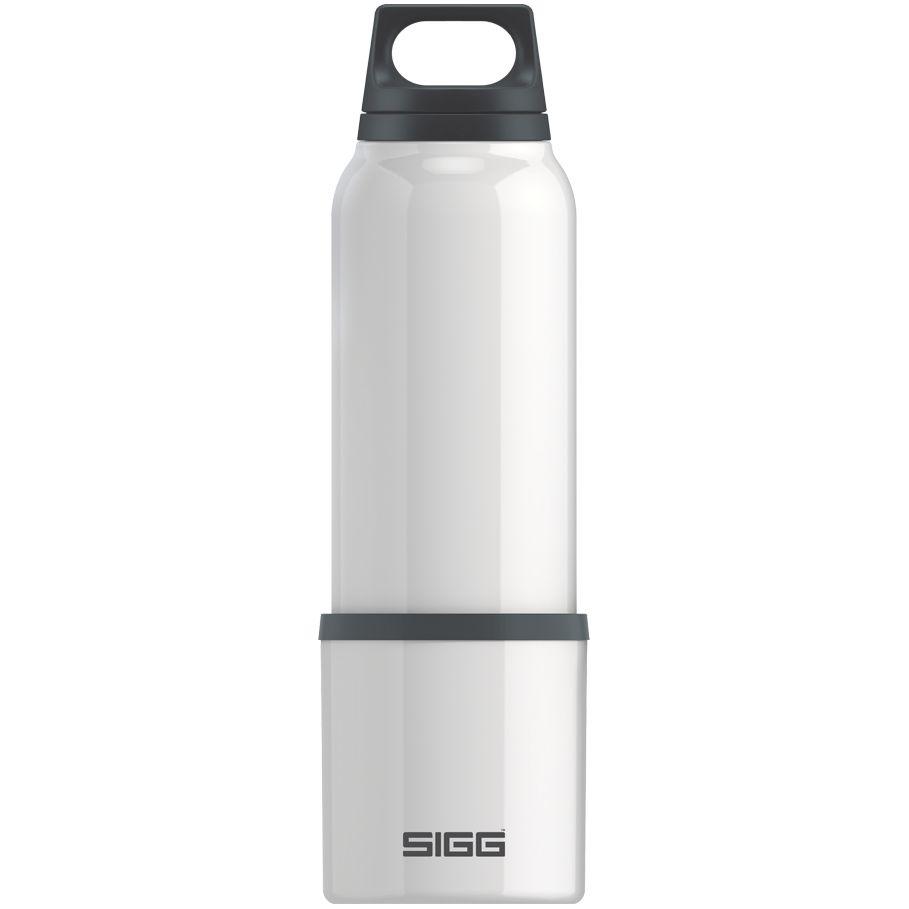 Термобутылка с чашкой Hot & Cold 750, белая