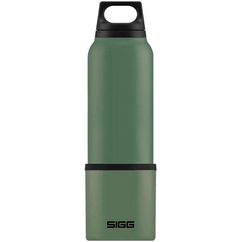 Термобутылка с чашкой Hot & Cold 750, зеленая