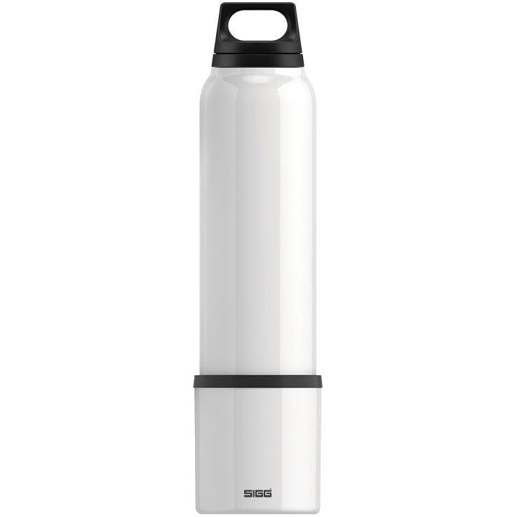 Термобутылка с чашкой Hot & Cold 1000, белая