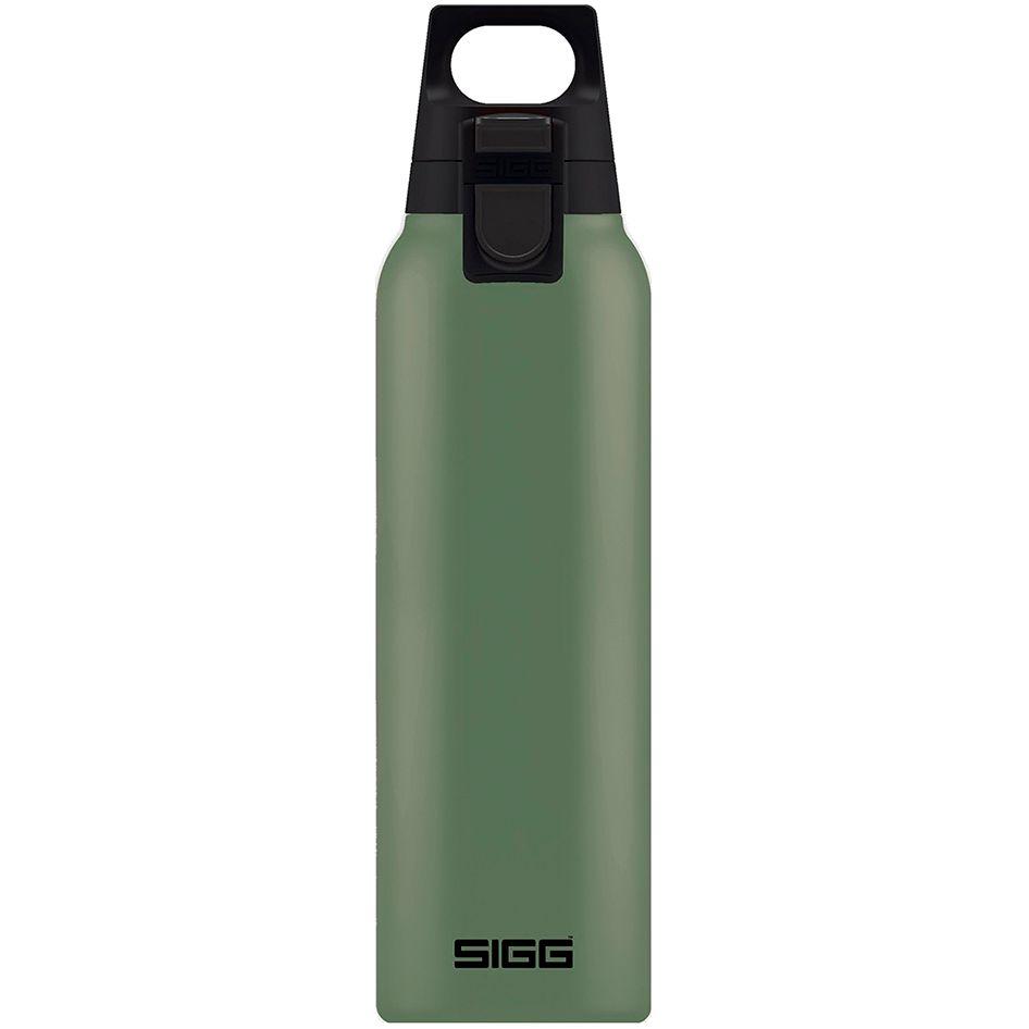 Термобутылка Hot & Cold One 500, темно-зеленая