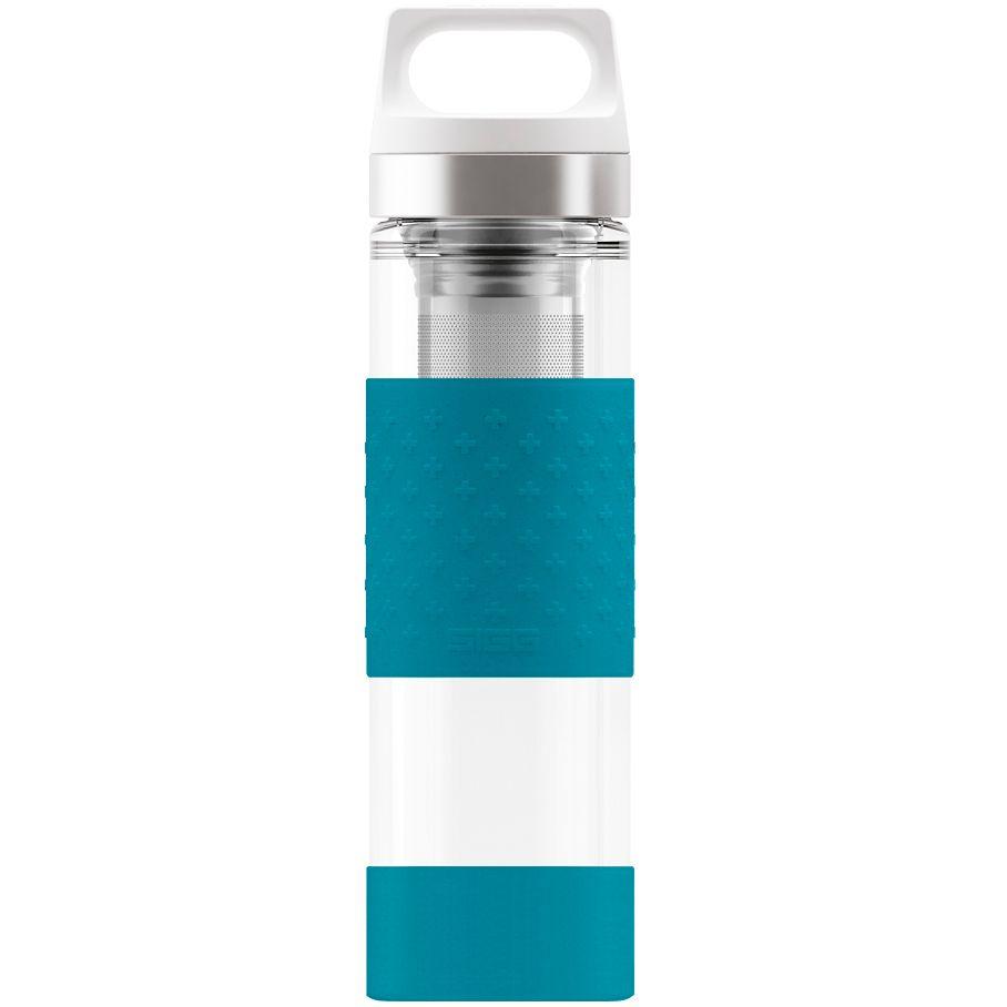 Бутылка для воды Glass WMB, голубая