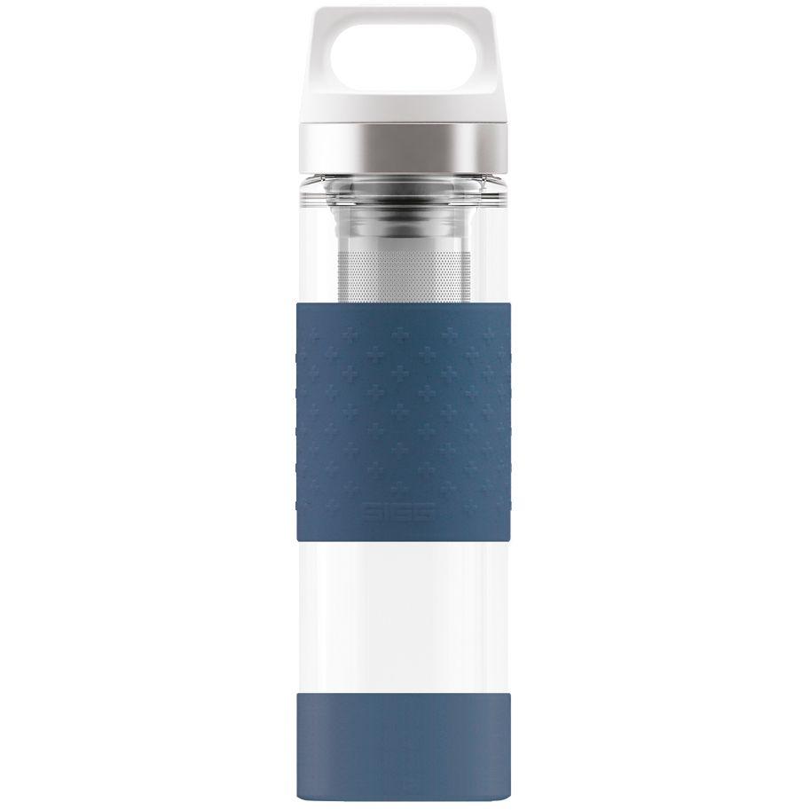Бутылка для воды Glass WMB, синяя