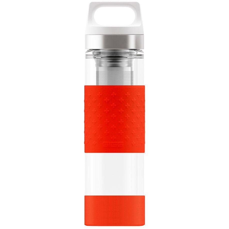 Бутылка для воды Glass WMB, красная