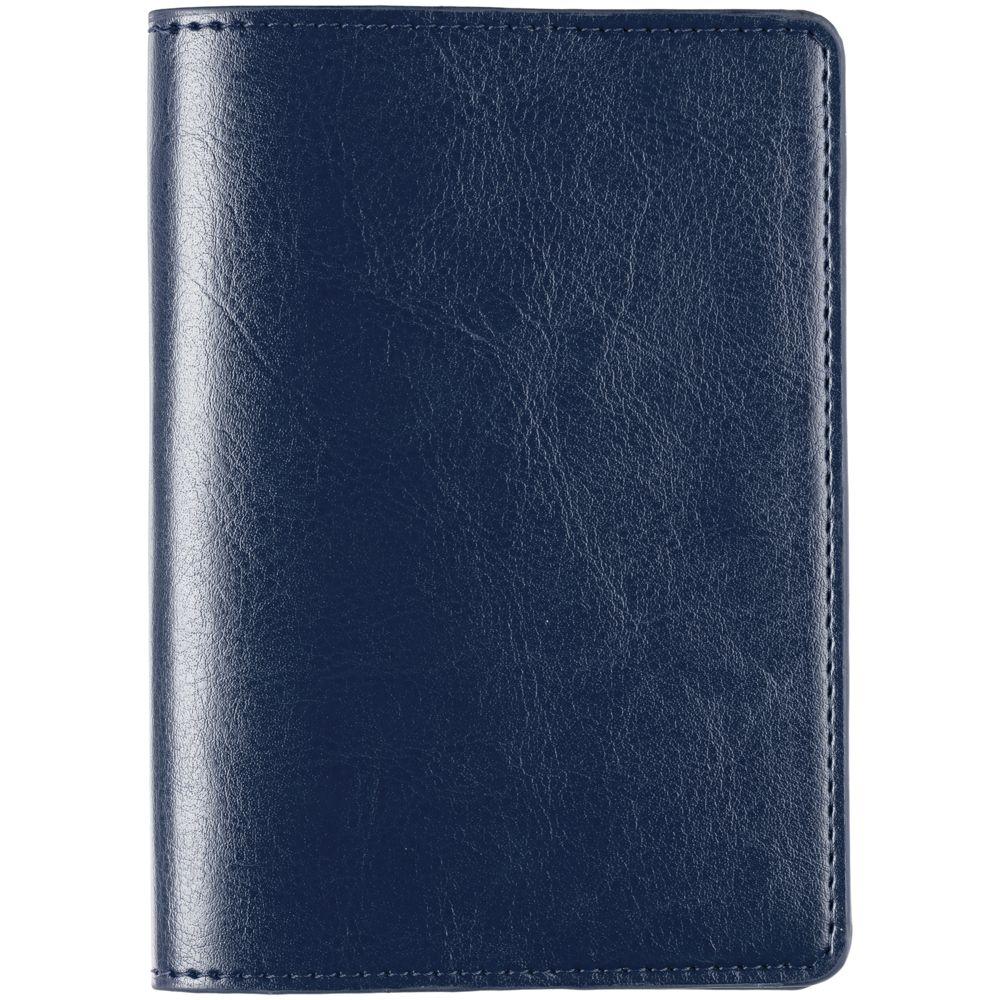 Обложка для паспорта Nebraska, синяя