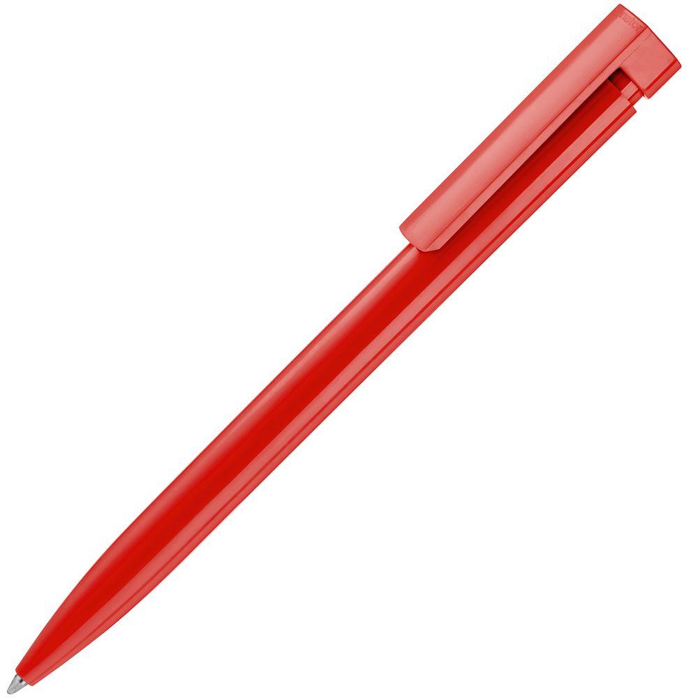 Ручка шариковая Liberty Polished, красная