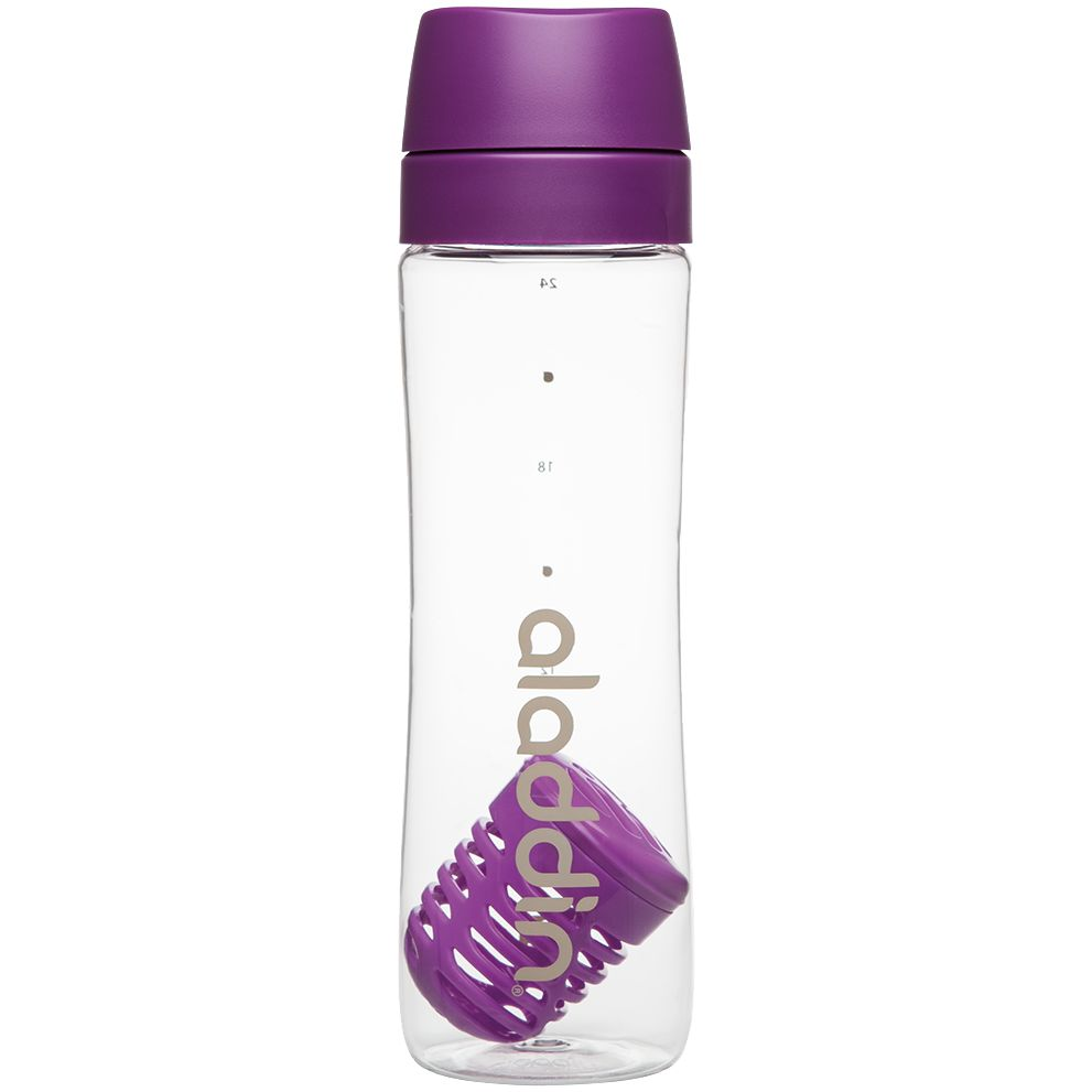 Бутылка для воды Aveo Infuse, фиолетовая