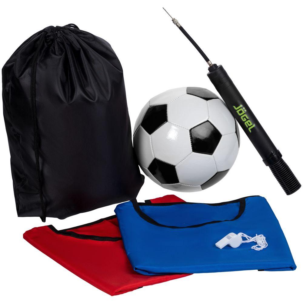 Набор для игры в футбол On The Field, с черным мячом