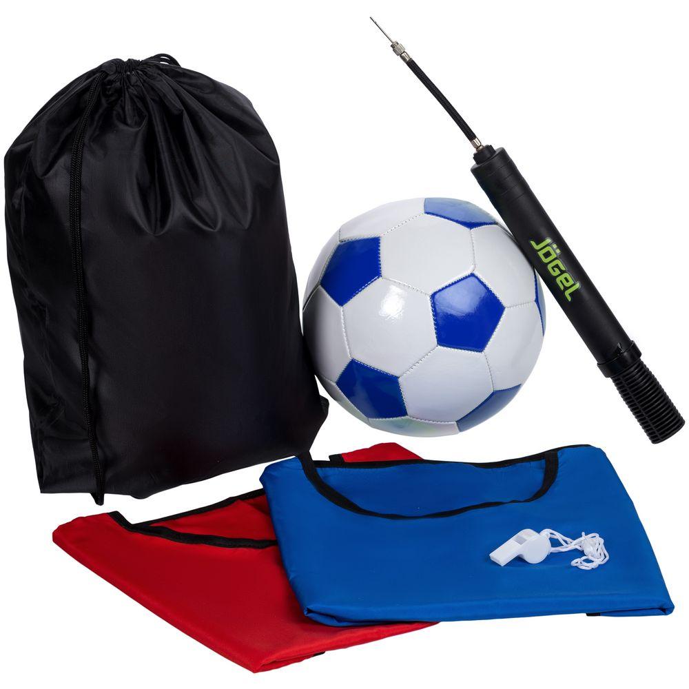 Набор для игры в футбол On The Field, с синим мячом