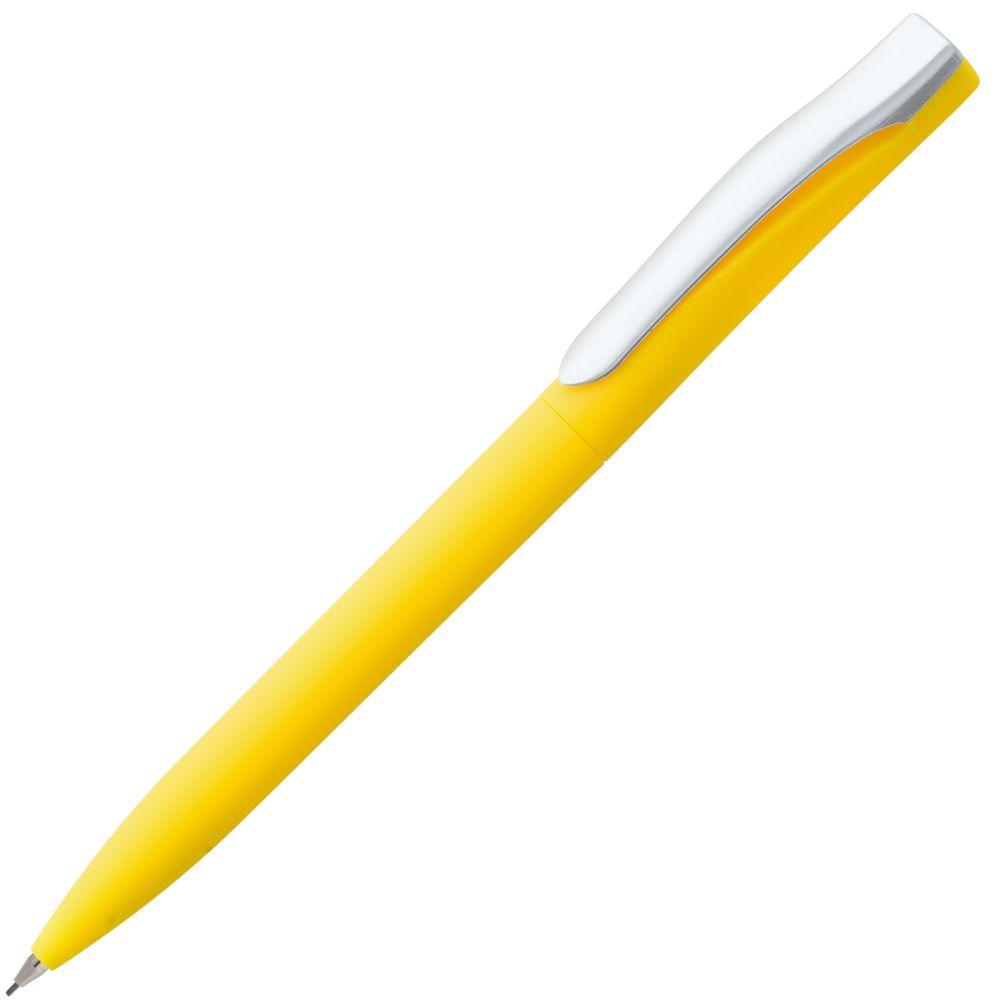 Карандаш механический Pin Soft Touch, желтый