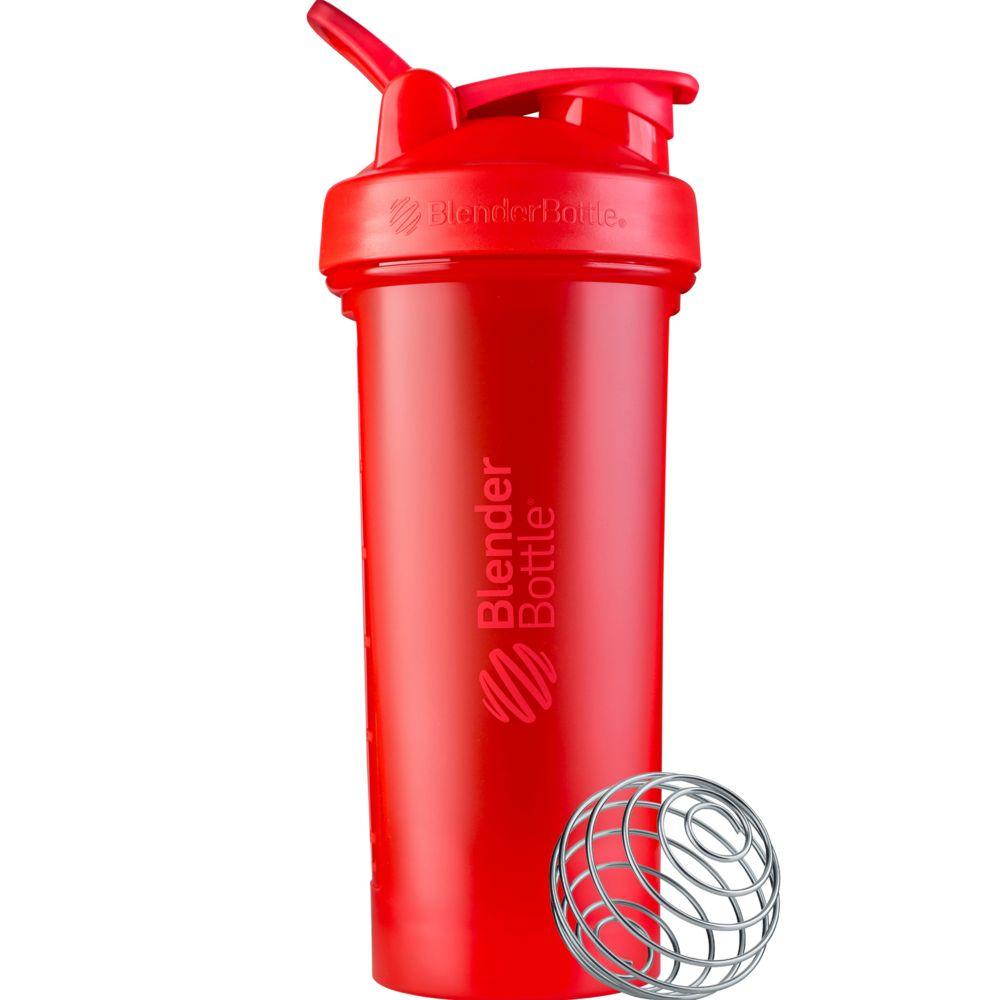 Спортивный шейкер Classic V2 Full Color, большой, красный