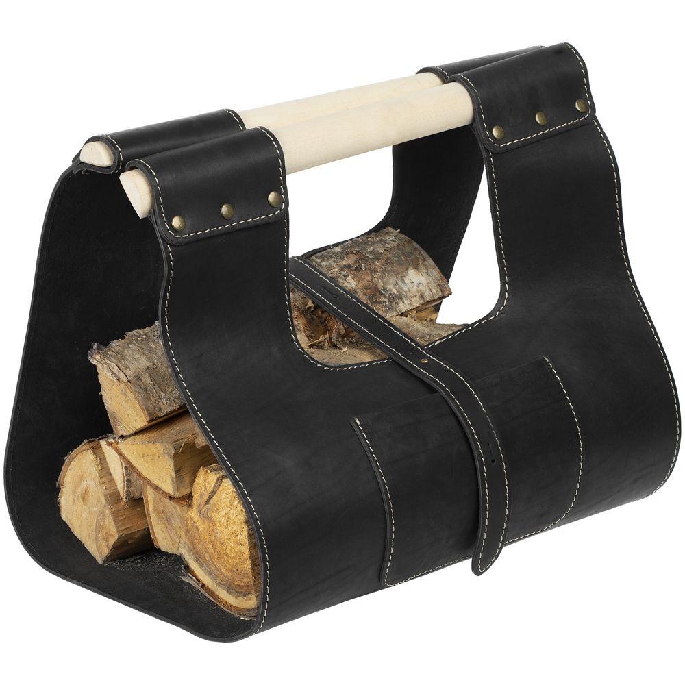 Сумка для дров Montero, черная