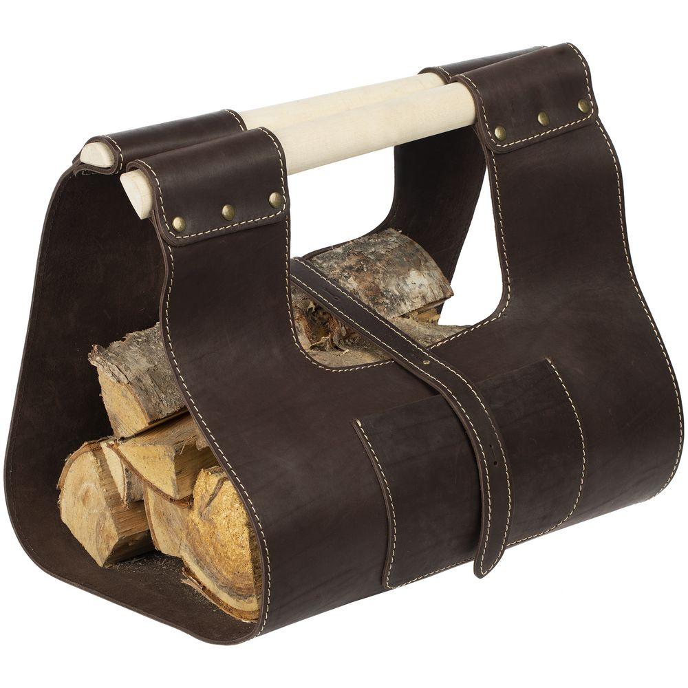 Сумка для дров Montero, коричневая