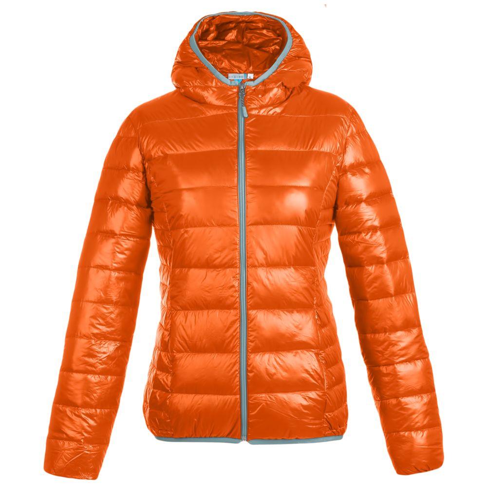 Куртка пуховая женская Tarner Lady, оранжевая