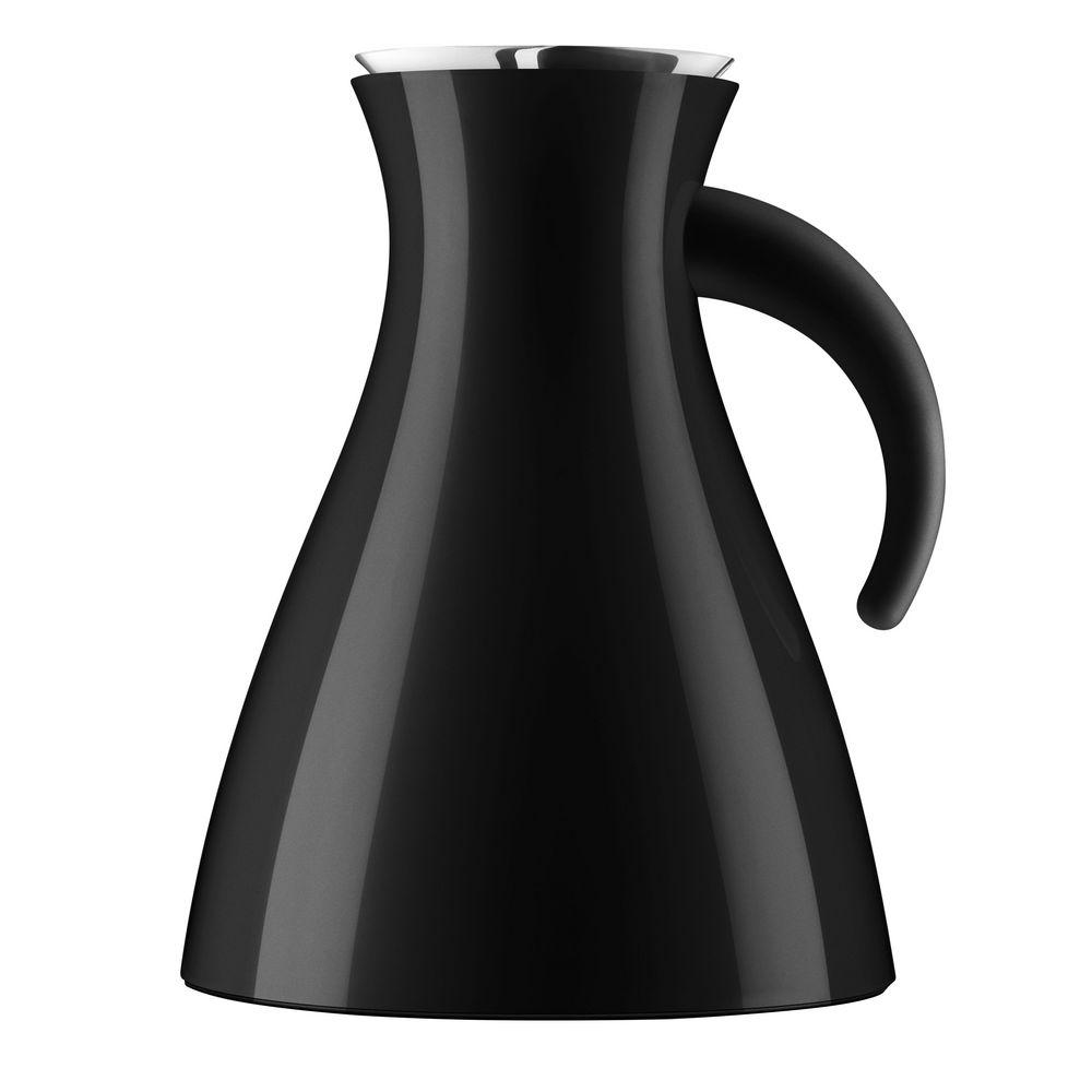 Термокувшин Vacuum, низкий, черный