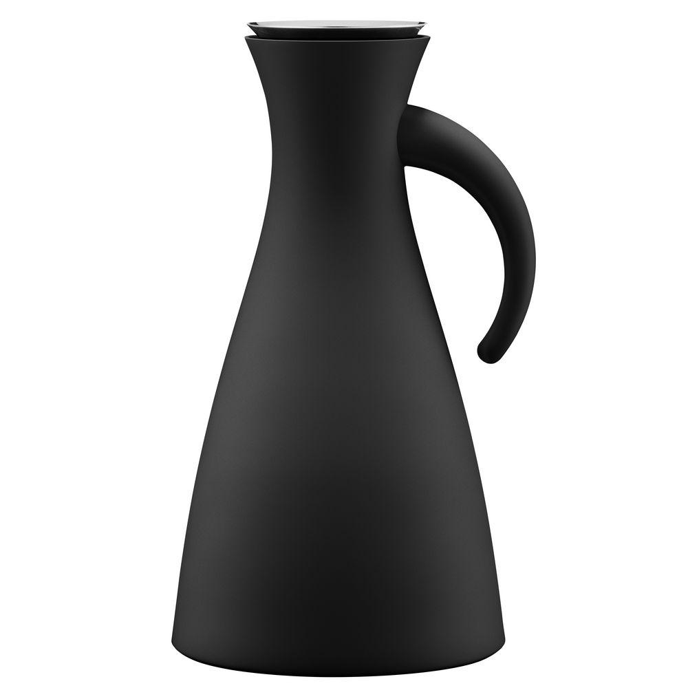 Термокувшин Vacuum, высокий, матовый черный