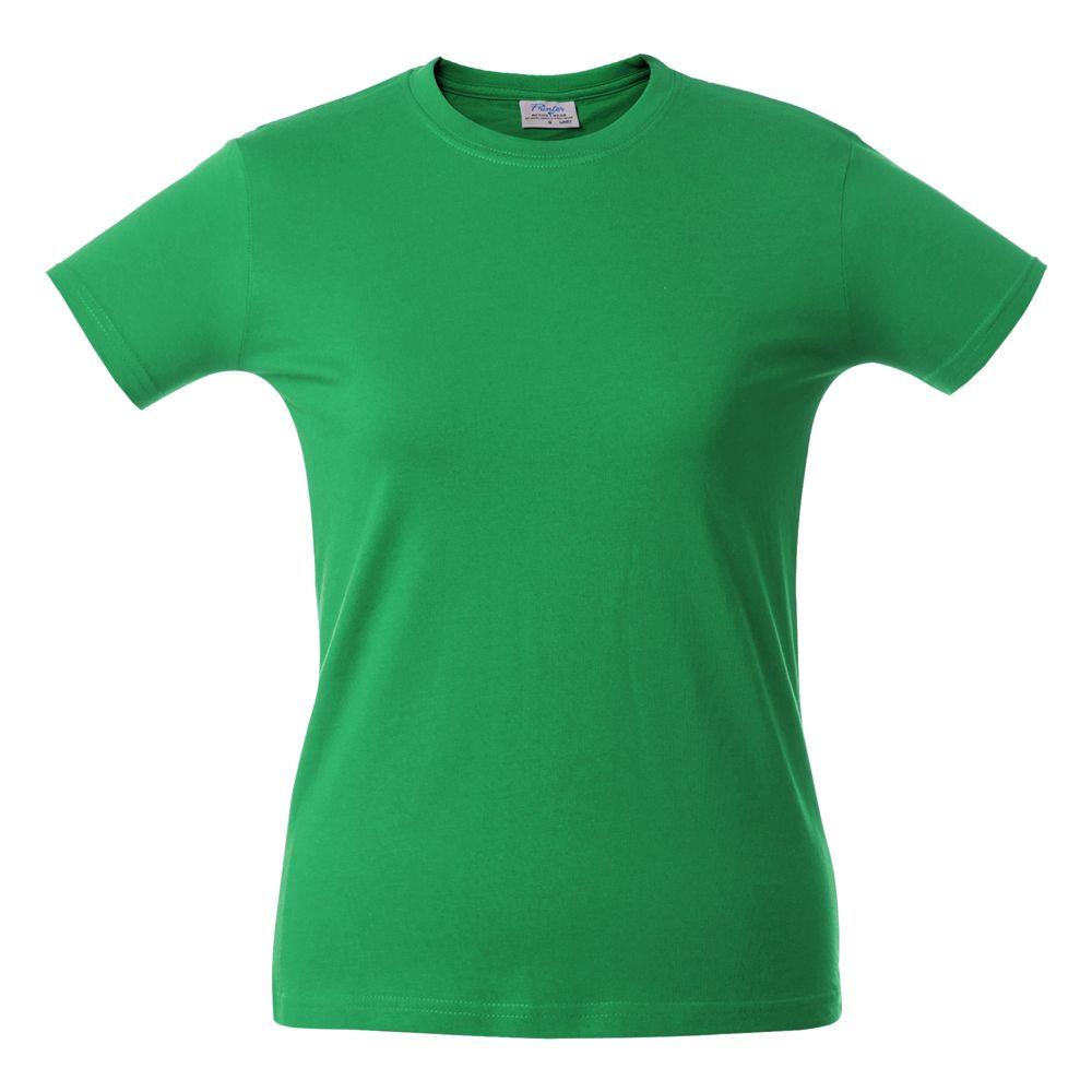 Футболка женская LADY H, зеленая
