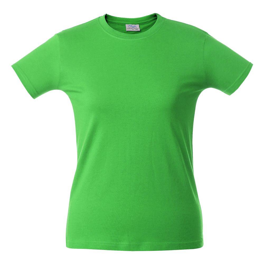 Футболка женская LADY H, зеленое яблоко