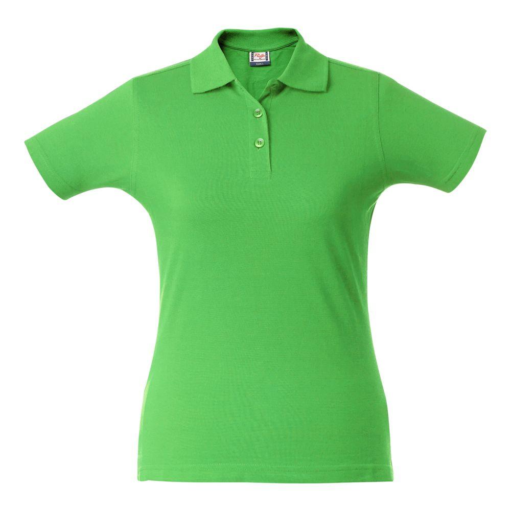 Рубашка поло женская SURF LADY, зеленое яблоко