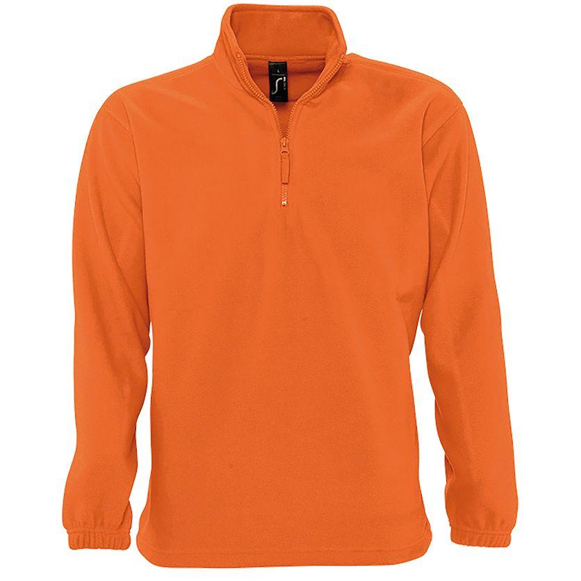 Толстовка из флиса NESS 300, оранжевая
