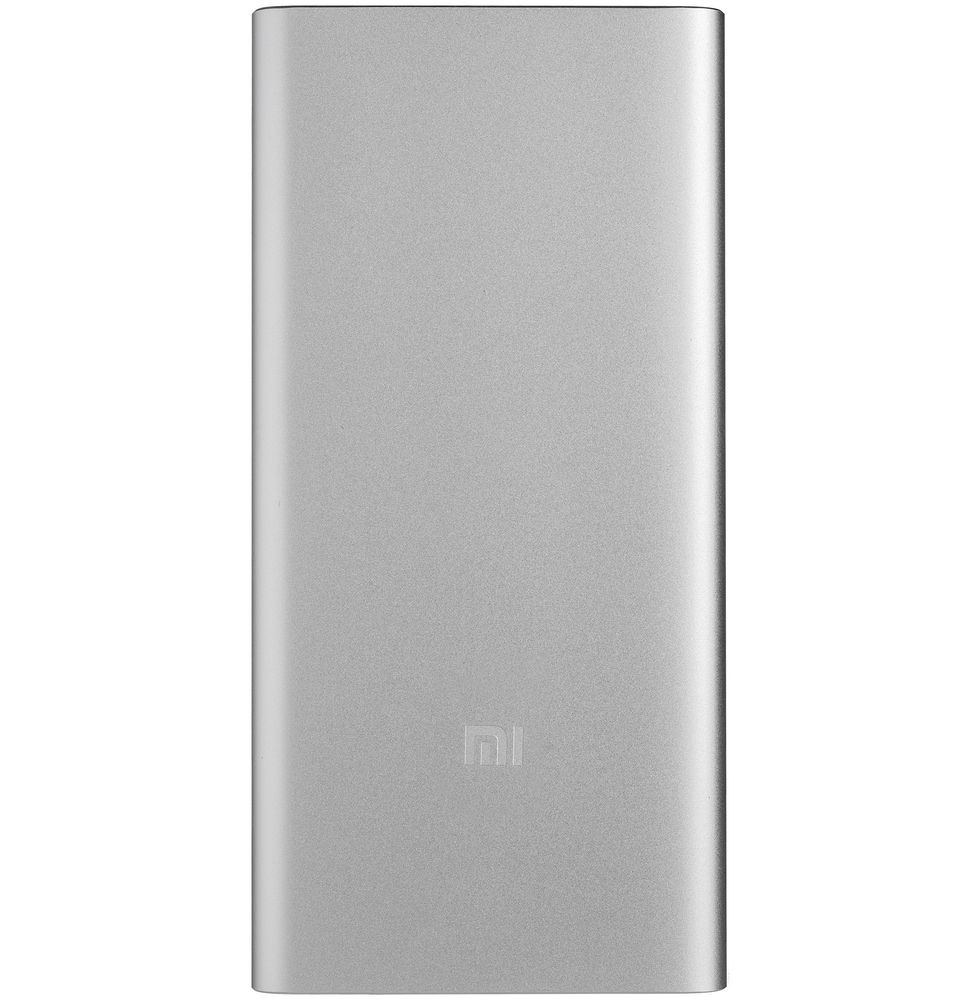 Внешний аккумулятор Mi Power Bank 2S, 10000 мАч, серебристый