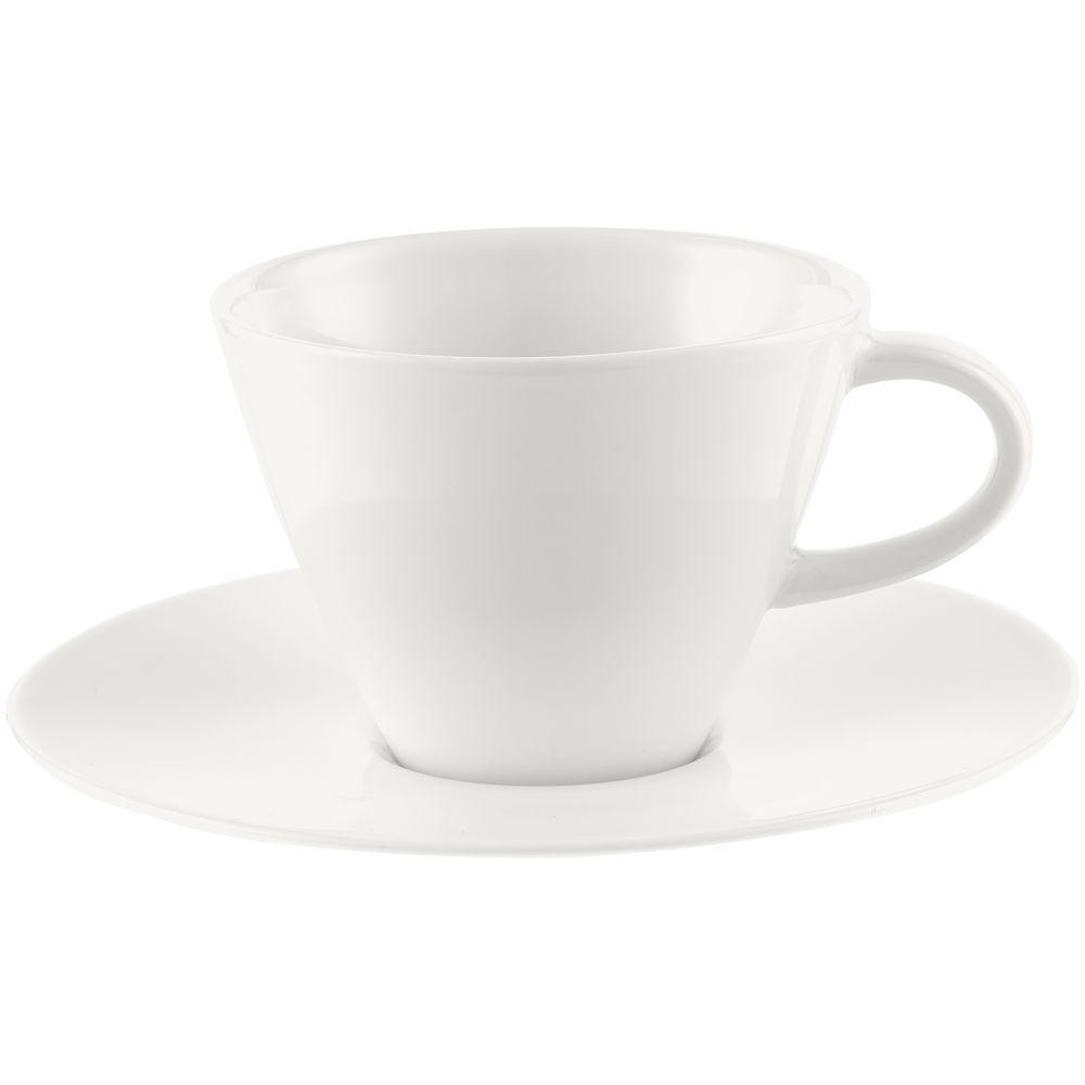 Чайная пара Caffe Club White