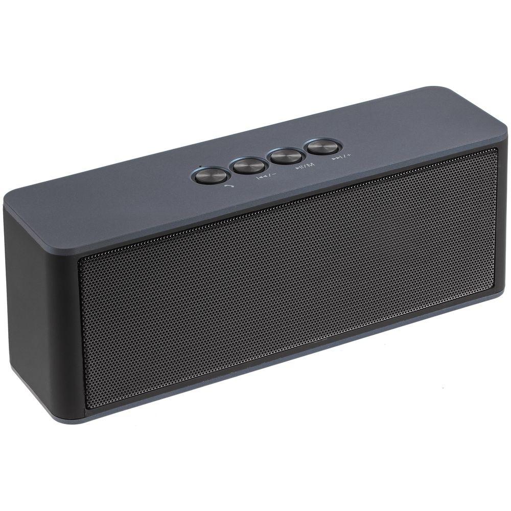 Беспроводная стереоколонка Uniscend Cube Rock, темно-синяя