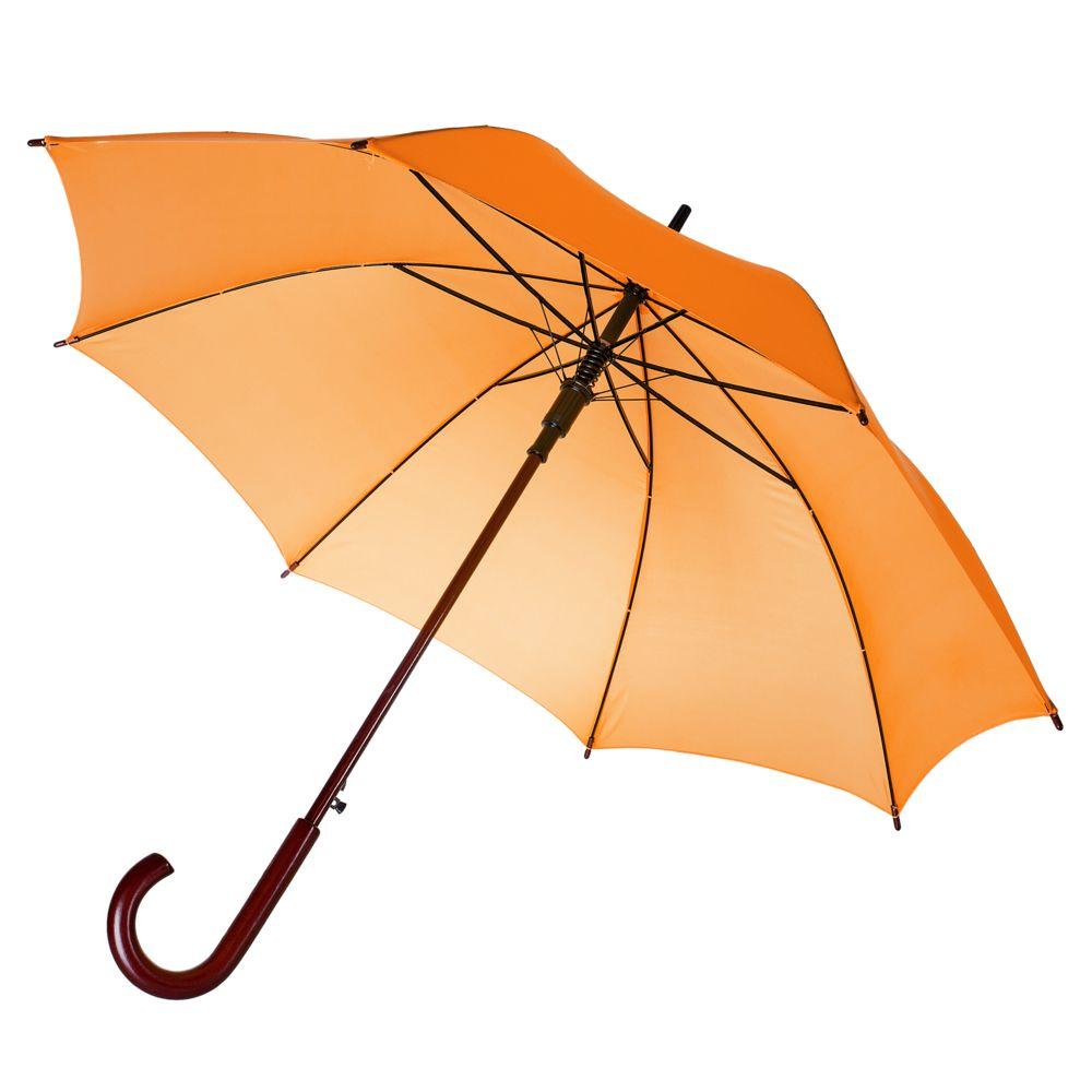Зонт-трость Standard, оранжевый