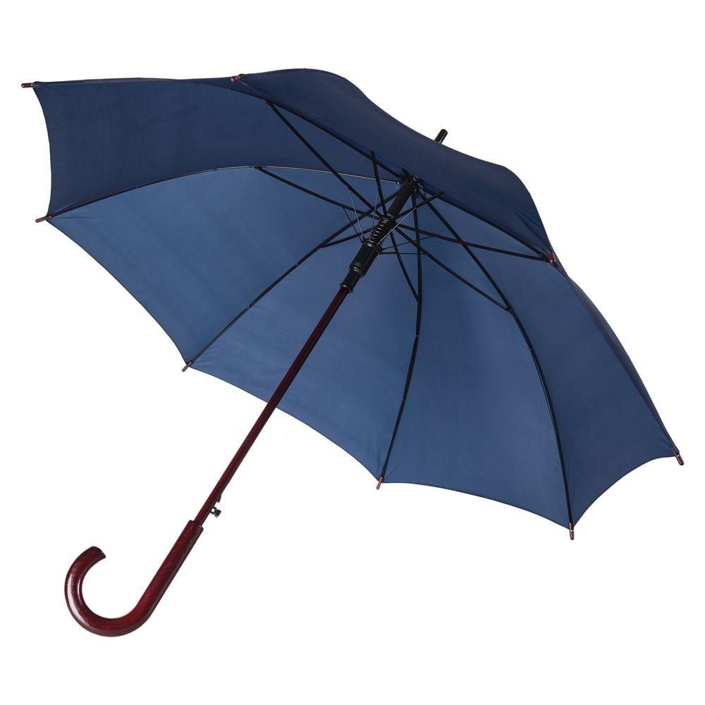 Зонт-трость Standard, темно-синий