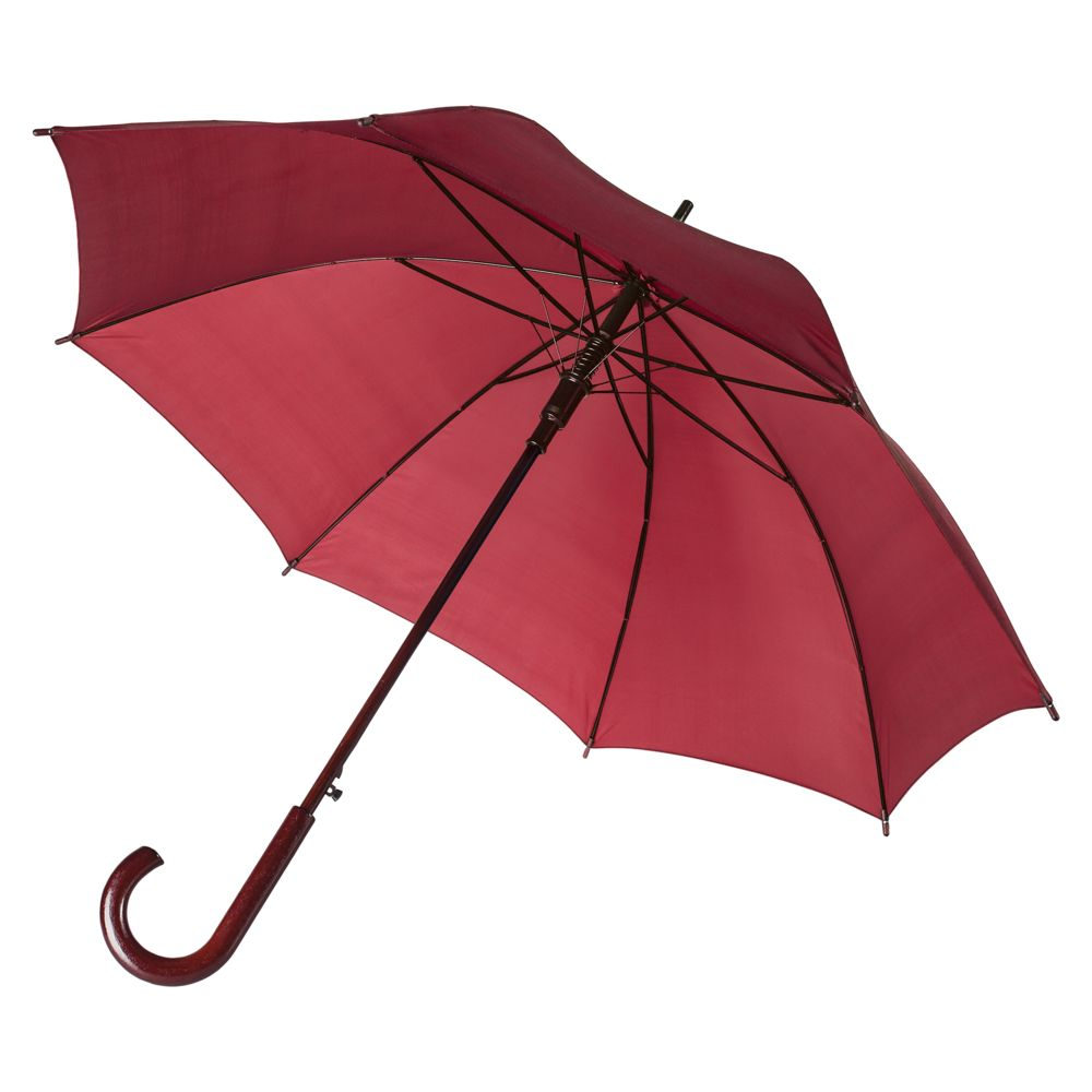 Зонт-трость Standard, бордовый