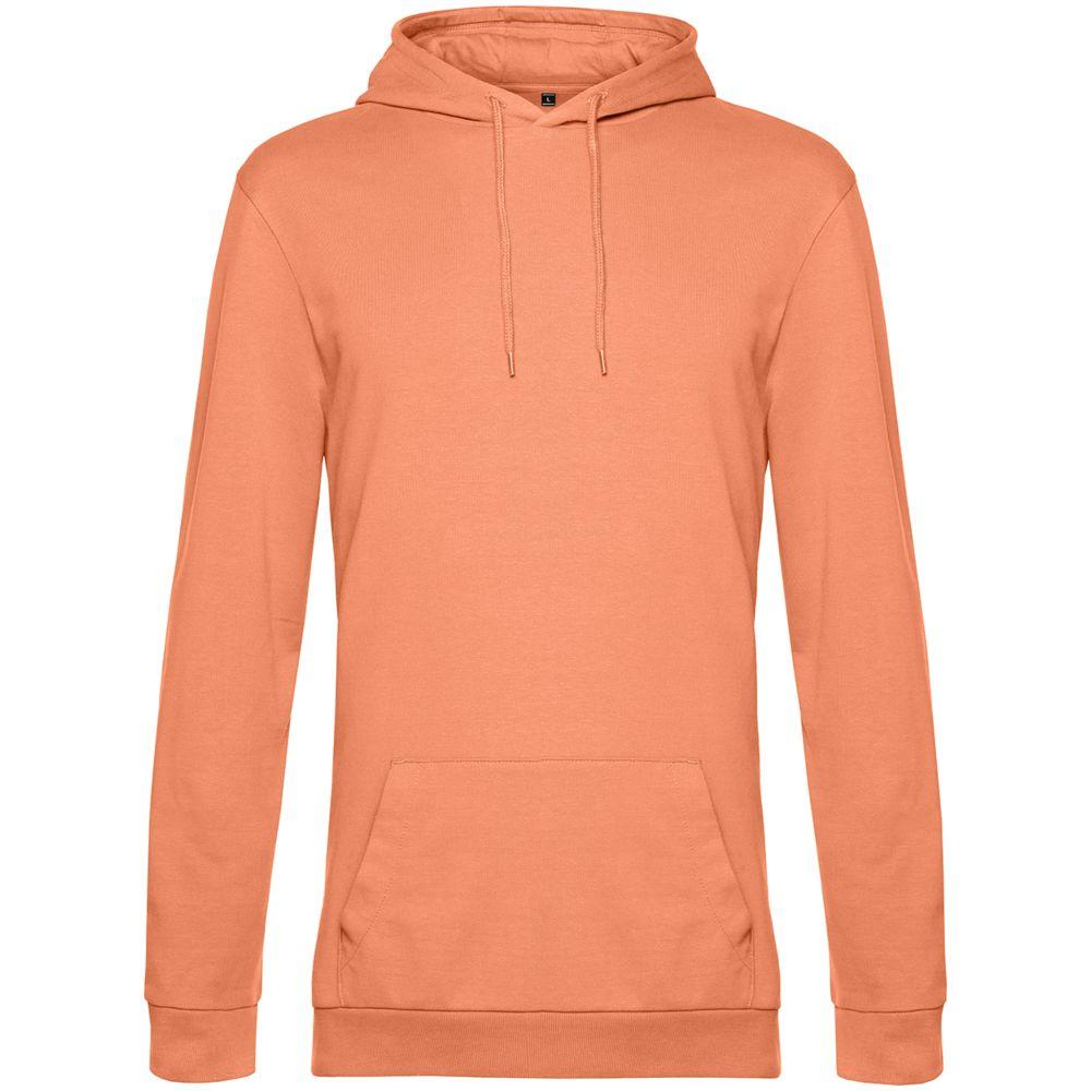 Толстовка с капюшоном унисекс Hoodie, светло-оранжевая