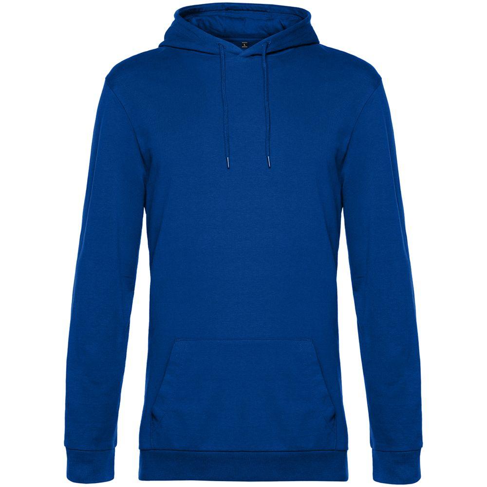 Толстовка с капюшоном унисекс Hoodie, ярко-синяя