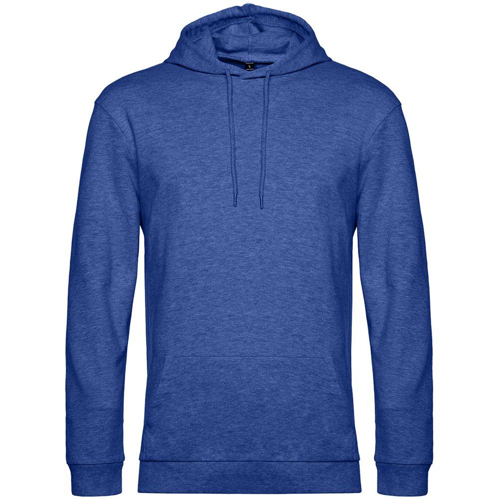 Толстовка с капюшоном унисекс Hoodie, ярко-синий меланж
