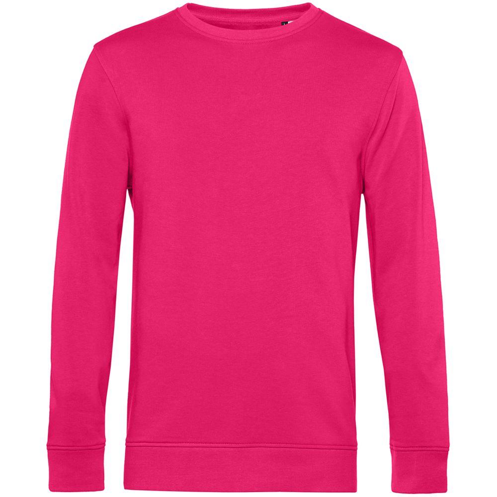 Свитшот унисекс BNC Organic, ярко-розовый (фуксия)