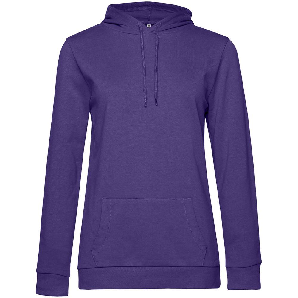 Толстовка с капюшоном женская Hoodie, фиолетовая