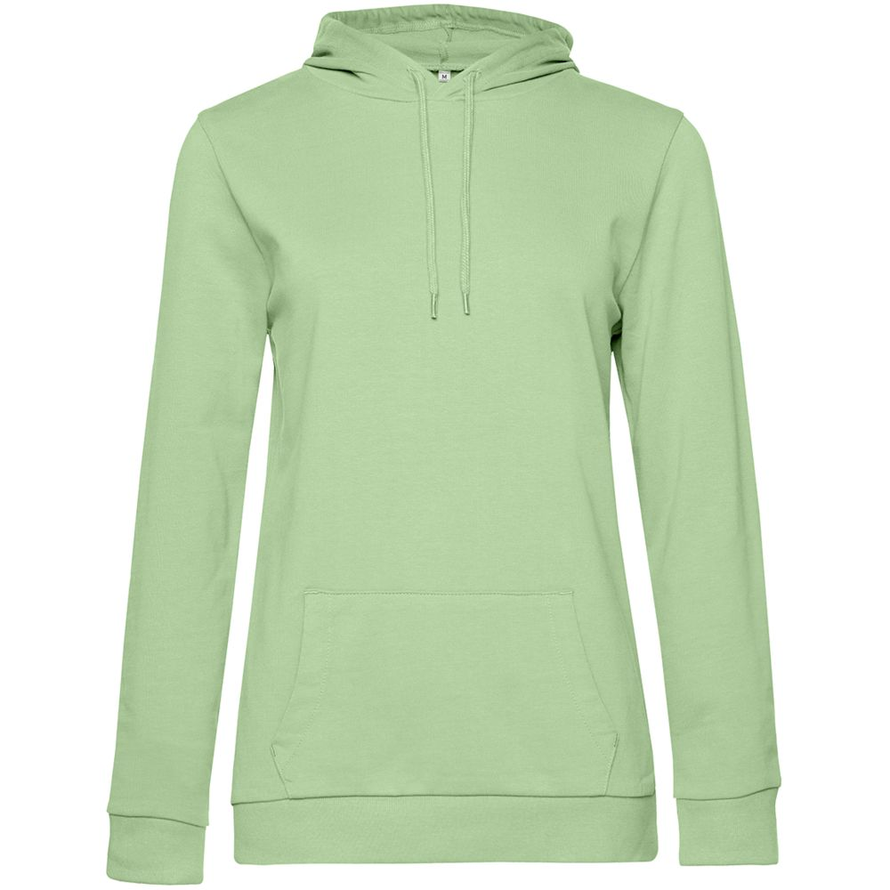 Толстовка с капюшоном женская Hoodie, светло-зеленая