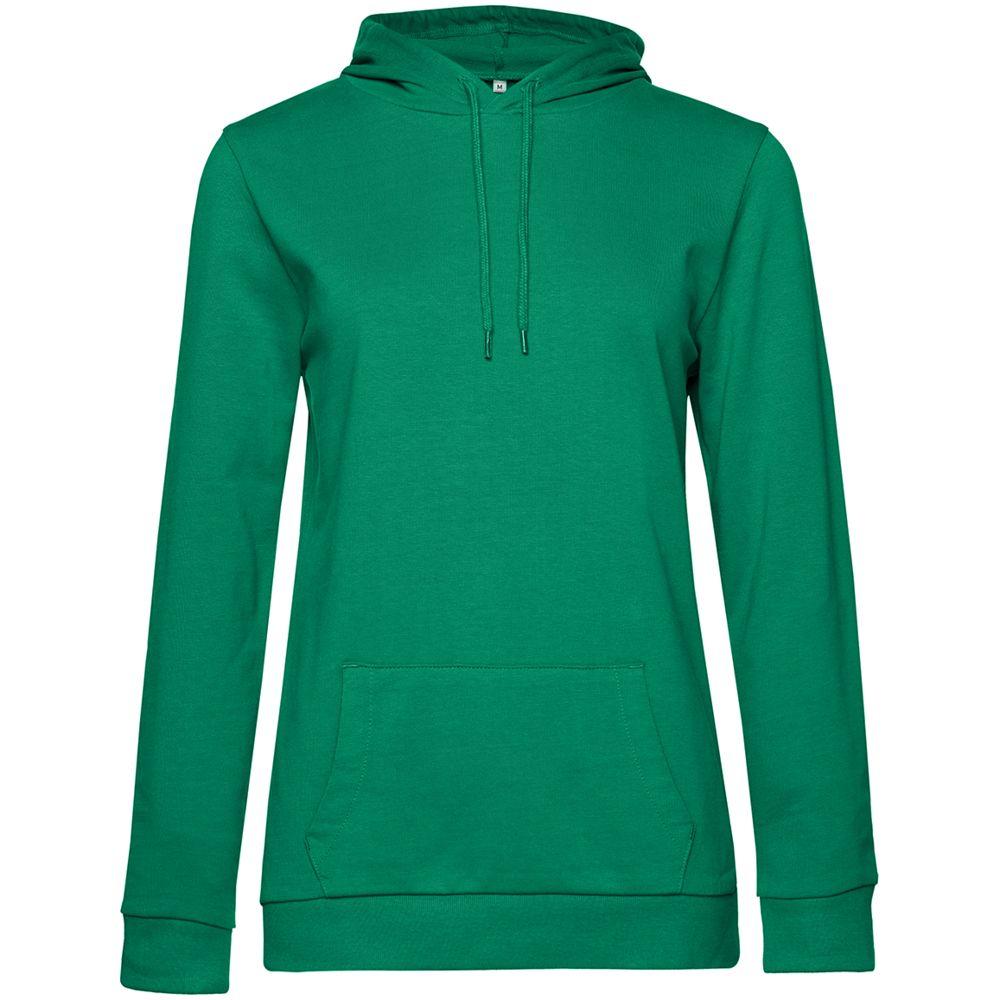 Толстовка с капюшоном женская Hoodie, зеленая