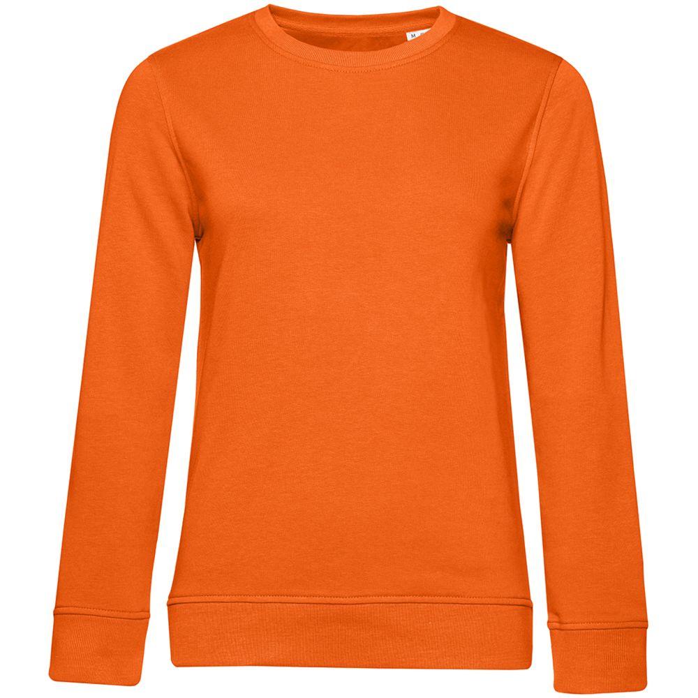 Свитшот женский BNC Organic, оранжевый