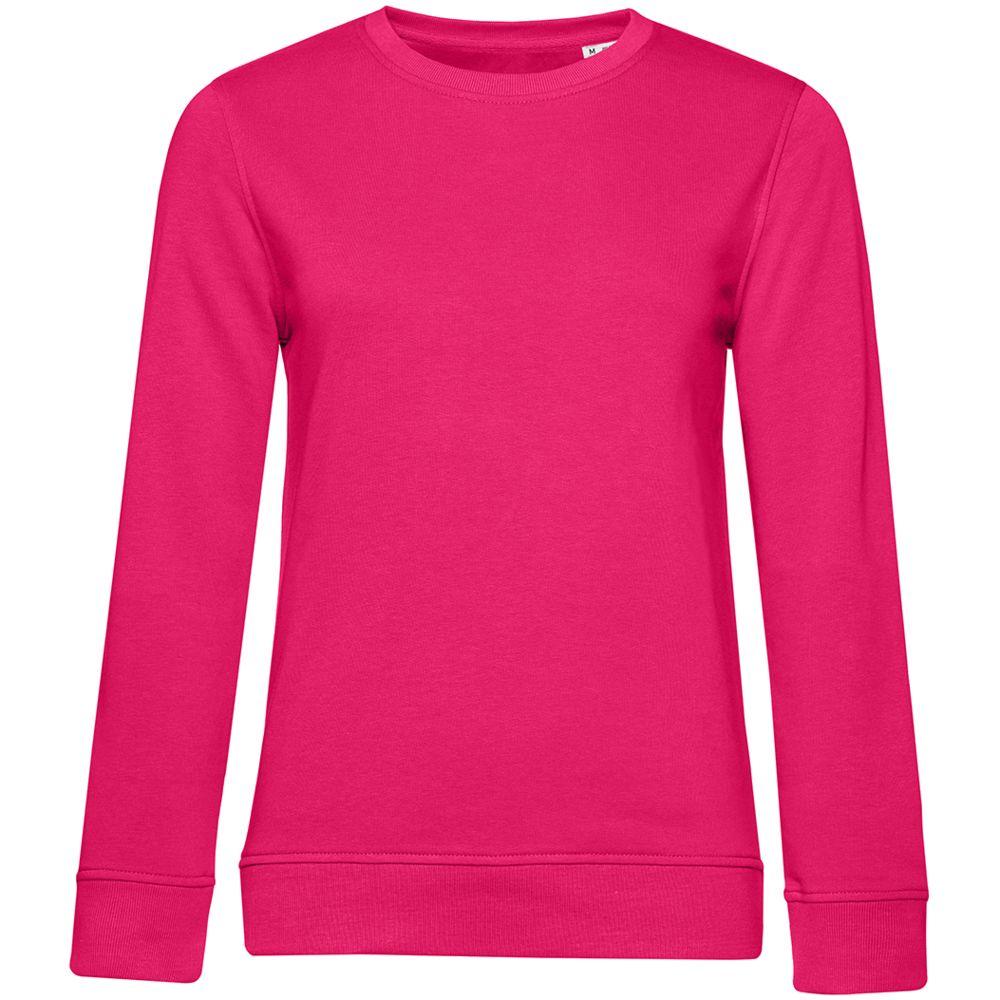 Свитшот женский BNC Organic, ярко-розовый (фуксия)